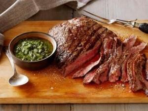 Carne y Chimichurri